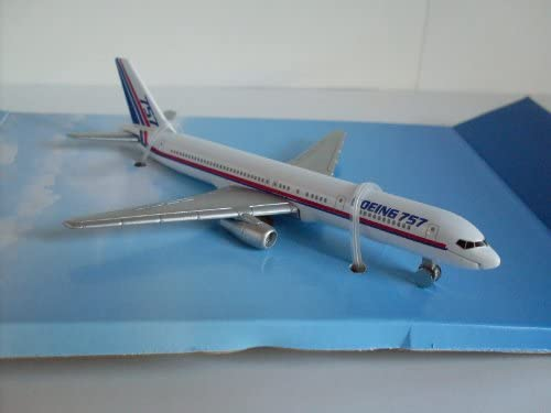 Boeing welly maquette davion 757