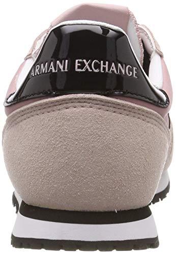 Eu 35 Exchange Sneaker Rosa Donna Armani Xdx031 nero cBR0p6wqw