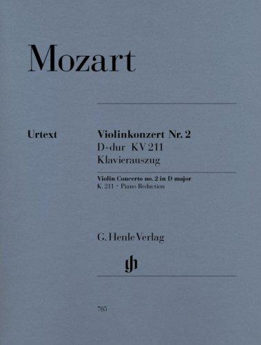 Download Mozart: Violin Concerto No. 2 in D Major, K. 211 pdf