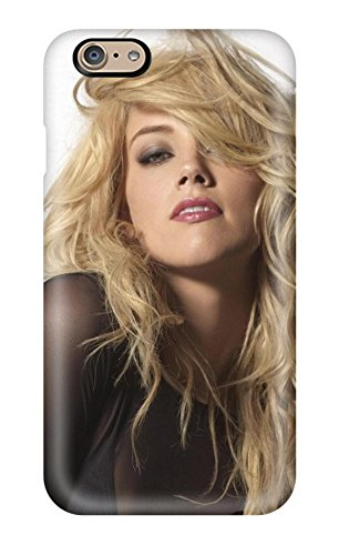 New Arrival Amber Heard Messy Hair White Background People Women For Iphone 6 Case Cover (Girly Iphone 6 Accesories compare prices)