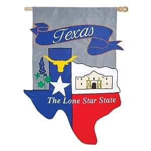 Evergreen Enterprises 10689 Texas State Regular Applique Flag