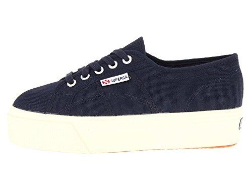 Superga Damen 2790 Acotw Fashion Sneaker Marine