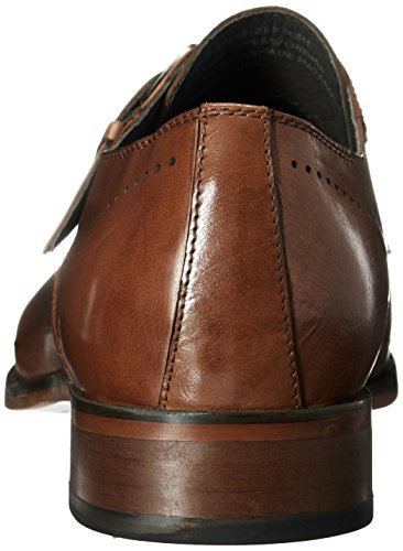 Cap Kimball Men's Tan Strap Toe Loafer Slip Adams Stacy Saddle Monk on Fwtx66