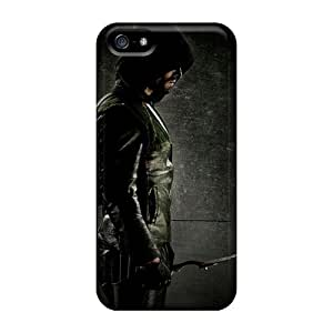 Perfect Hard Cell-phone Case For Iphone 5/5s With Allow Personal Design High Resolution Green Arrow Pictures ColtonMorrill
