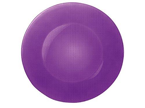 Bormioli Rocco Charger Plates Purple