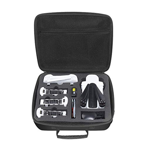 Hard Portable Waterproof One Shoulder Storage Bag Carry Case for Hubsan H117S Zino,Black