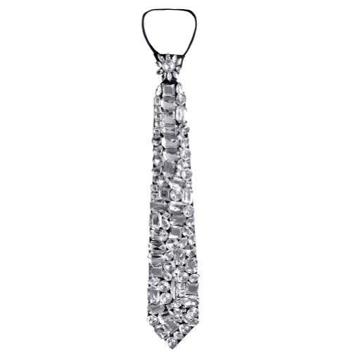 Nw Costumes Jewelry (Nava Nw Luxury Rhinestone Crystal Jewelry Tie Party Ball Masquerade Halloween Costume)
