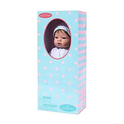 Madame Alexander Munchkin Light Skin Tone Blue Eyes/Brown Hair, Multi: Toys & Games