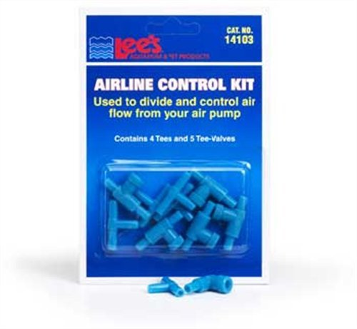 Lees Airline Products Pet (Lee's Pet Products ALE14103 Airline Control Kit for Aquarium Pumps)
