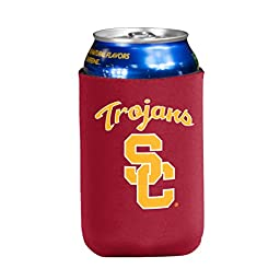 NCAA USC Trojans Flat Drink Coozie