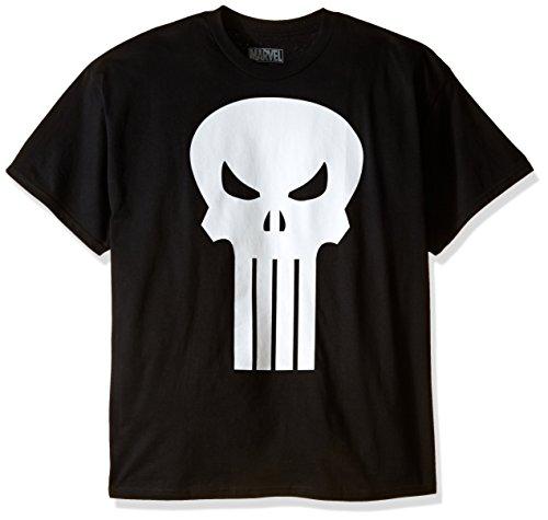 The Punisher Movie Skull Logo Black Mens T-Shirt Tee