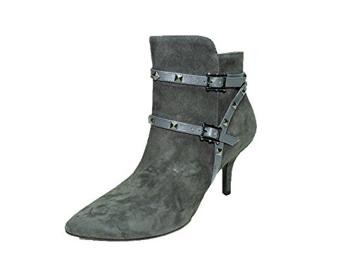 amp; Leather Womens Straps Ankle VANELi Boots Suede Kenyon Grey pOfIXq