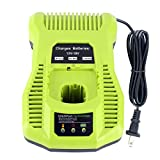 Epowon P117 One+ 18 Volt Dual Chemistry IntelliPort Li-ion and NiCad Battery Charger 12V-18V MAX For Ryobi ONE Plus P102 P105 P107 P108 P117 P122