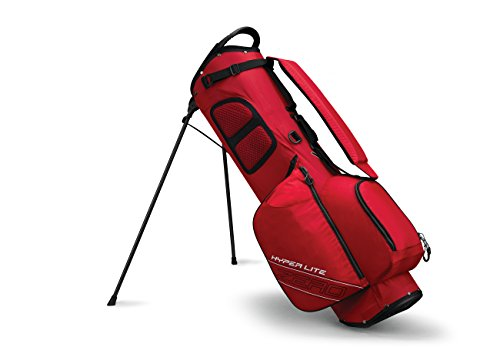 Callaway 2017 Hyper Lite Zero Double Strap Stand Bag Red