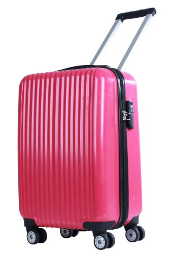 american-flyer-luggage-boson-hard-case-21-inch-carry-on-fuschia-one-size