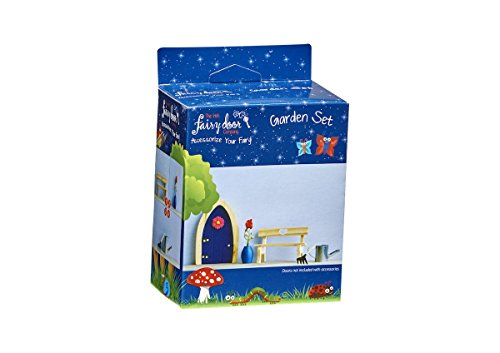 The Irish Fairy Door Company - Garden Set, 4 Piece Accessory