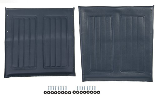 Chair Upholstery Dental (Medline Wheelchair Seat and Back Upholstery Set, Navy, 16 Inch)