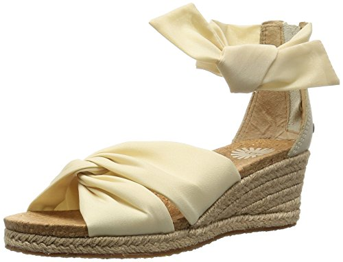 Ugg Australia Women's Starla Wedge Sandals, Cream, 6