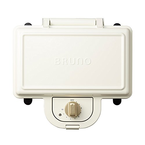 BRUNO Hot Sand Maker Double (White) BOE044-WH【Japan Domestic genuine products】【Ships from JAPAN】 by Bruno