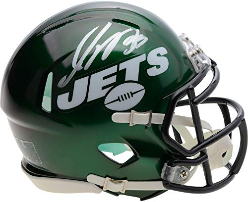 Jamal Adams New York Jets Autographed Riddell Speed Mini Helmet - Fanatics Authentic Certified - Autographed NFL Mini Helmets