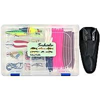Fishing Kit 118 pc. Freshwater Tackle Set Lures Pliers...