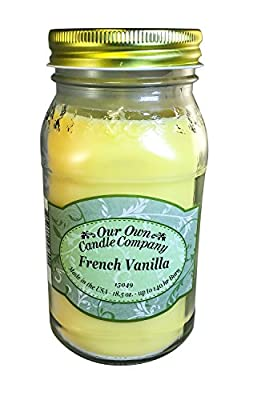 Our Own Candle Company Scented Mason Jar Candle, 18 Ounce