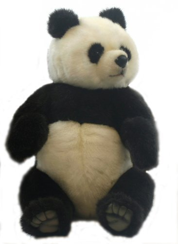 Plush Soft Toy Jointed Panda by Hansa.38cm. 4473 by Hansa