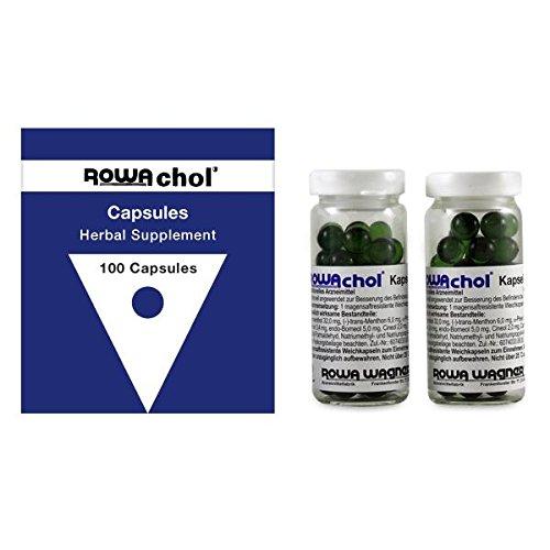 Image of Rowachol Capsules 100 Capsules by Rowa