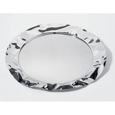 Alessi Foix Round Tray by Lluis Clotet, 1994