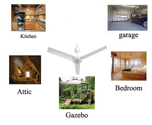 28 Inch 110V AC electric Ceiling Fan Energy Saving Indoor Ceiling Fan Outdoor gazebo ceiling fan /… 28 INCH