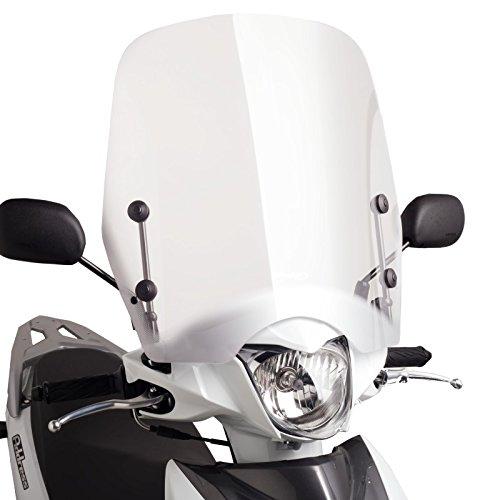 Motorrad Windschild Windschutz Puig T.S. Suzuki Address 110 15-17 klar