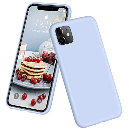 DTTO Compatible with iPhone 11 Case, [Romance Series] Full Covered Silicone Cover [Enhanced Camera and Screen Protection…