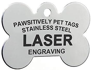 Amazon.com: Etiquetas ID de Mascota de Acero Inoxidable ...