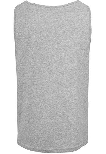 Jersey L Muscle mangas uft hombre Tank 2store24 Big jaspeado mangas sin Camiseta Shirt para sin Camiseta Gris RgxRq4zwT
