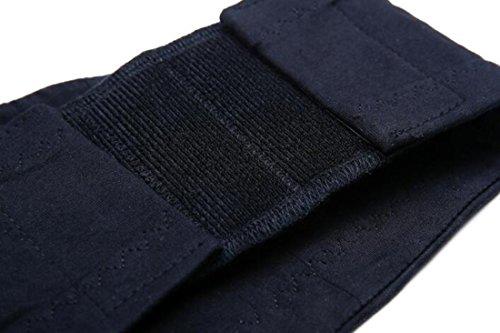 Manos libres inalambrico con cremallera interior maternidad lactancia sacaleche Stretch Elástico sujetador lactancia Black