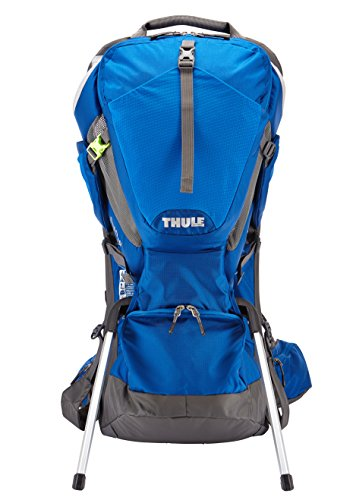 Thule Sapling Child Carrier, Slate/Cobalt by Thule (Image #2)
