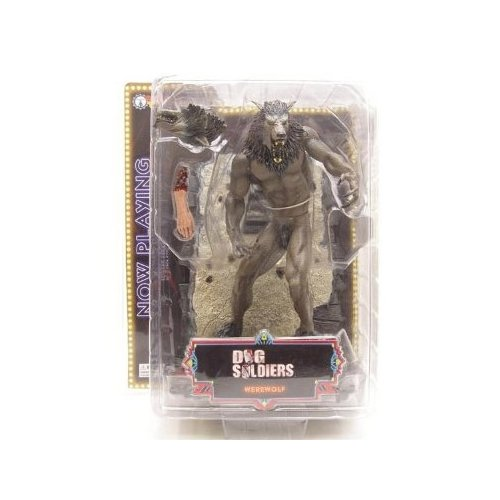 Now Playing Series 3 Dog Soldiers: Werewolf (Grey) Action Figure
