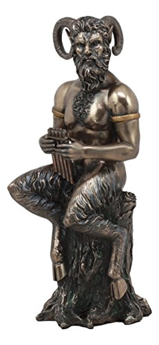 Ebros Greek God Pan Statue 9.75