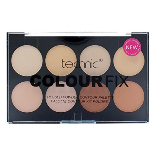 Technic Colour Fix Pressed Powder Contour Palette 25504