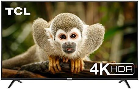 TCL 55DP602, Televisor de 55 pulgadas, Smart TV con UHD 4K, HDR, Dolby Digital Plus, T-Cast y sintonizador Triple, Color Negro [Clase de eficiencia energética A+]: Amazon.es: Electrónica