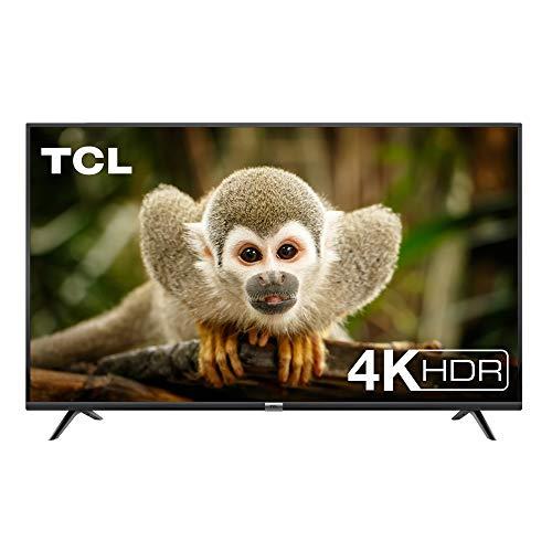 TCL 55DP602, Televisor de 55 pulgadas, Smart TV con UHD 4K, HDR, Dolby Digital Plus, T-Cast y sintonizador Triple, Color Negro a buen precio