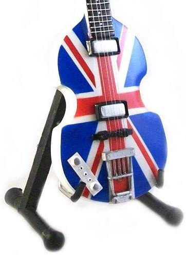 Eurasia1 Paul MC CARTNEY - Réplica HOFNER Bass Union Jack London 2012 - Guitarra en Miniatura Exclusiva