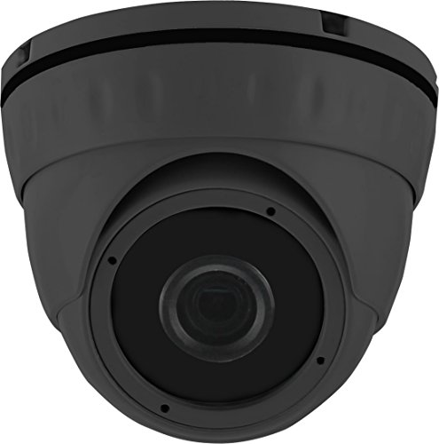 HDView 2.4MP HD-TVI StarLight, Motorized Lens 2.8-12mm, SONY Sensor, HD 1080P Outdoor Dome Camera, Color Video at Night