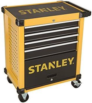 STANLEY Transmodule. Carro metálico para taller 4 cajones STMT1-74305, amarillo, talla única: Amazon.es: Bricolaje y herramientas