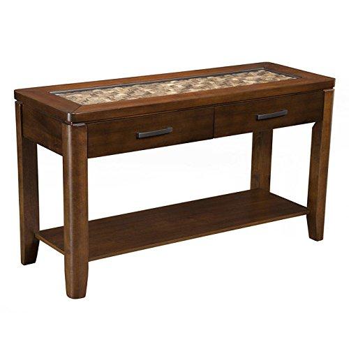 Amazon.com: Granada Tropical Woven-Top Sofa Table: Kitchen ...