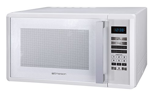 [Emerson MW1188W, 1.1 CU. FT. 1000 Watt, Touch Control, White Microwave Oven] (Emerson Appliance)