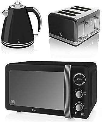 Nuevo Cisne Cocina Electrodoméstico Retro Juego - Negro Digital ...