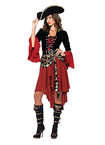 LifeWheel Ladies Sexy Charming Dress Costume Christmas Pirate Adult -
