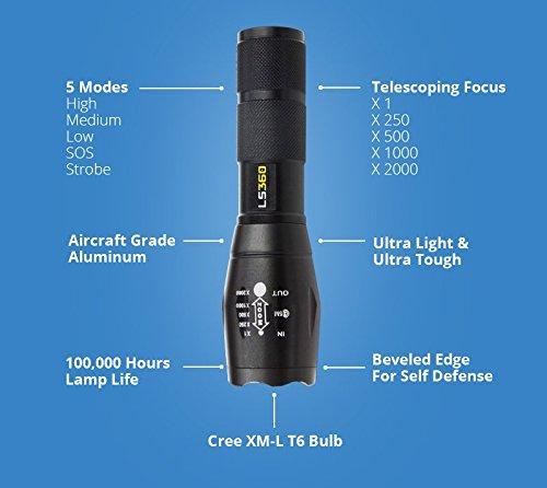taschenlampe l360
