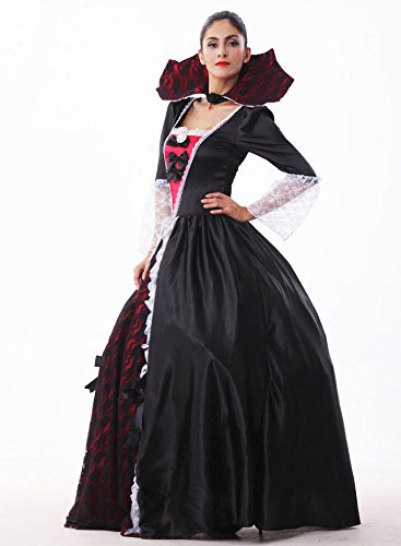 MV Women Halloween Costume Vampire Zombie Suits Halloween Ghost Bride Make - Up Party Dress Clothing -